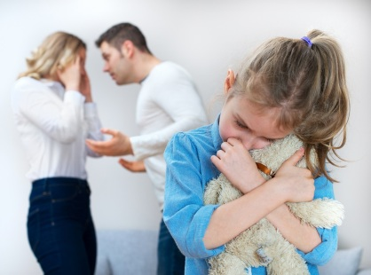 Des parents se disputent, l'enfant souffre